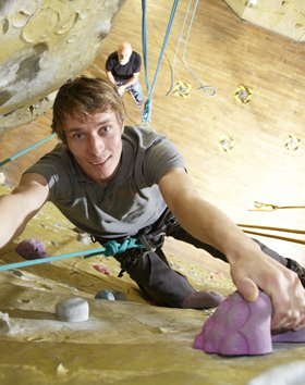 Rock climbing taster session for adults and children in Southampton Hampshire