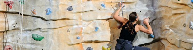Climbing tuition at Calshot Activity Centre, Reading Climbing Centre, Alton Climbing Wall and Southampton Climbing Wall in Hampshire