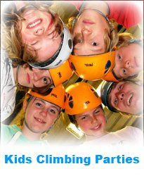 Kids climbing party